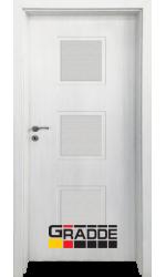 Интериорна врата ГРАДЕ Бергедорф, цвят Сибирска Лиственица