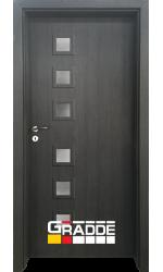 Интериорна врата ГРАДЕ Райхсбург, цвят Череша Сан Диего