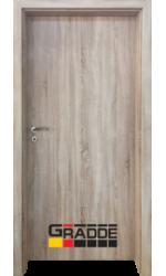 Интериорна врата ГРАДЕ Симпъл, цвят Дъб Вераде