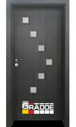 Интериорна врата ГРАДЕ Цвингер, цвят Череша Сан Диего