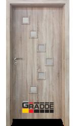 Интериорна врата ГРАДЕ Цвингер, цвят Дъб Вераде