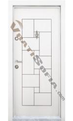 Входна врата Т 100 White