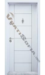 Входна врата T 102 White