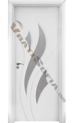 Интериорна врата 033 бяла